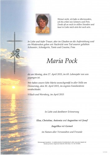 Maria Pock