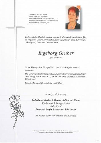 Ingeborg Gruber