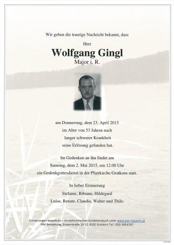 Wolfgang Gingl