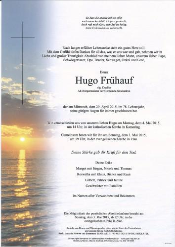 Hugo Frühauf