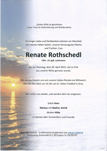 Renate Rothschedl