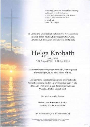 Helga Krobath