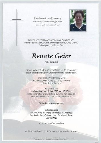 Renate Geier