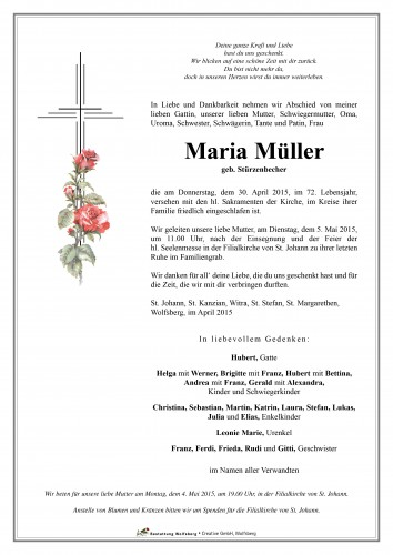 Maria Müller