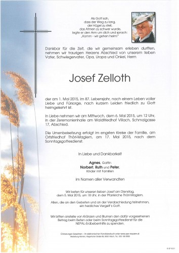 Josef Zelloth