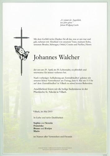 Johannes Walcher