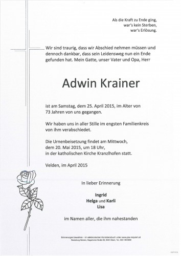 Adwin Krainer