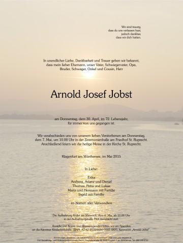 Arnold Josef Jobst
