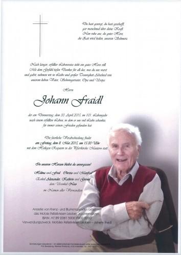 Johann Fraidl