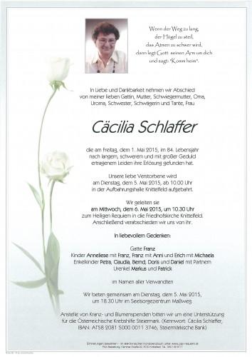 Cäcilia Schlaffer