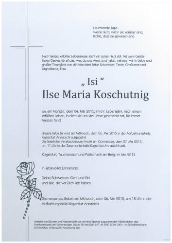 Ilse Maria Koschutnig