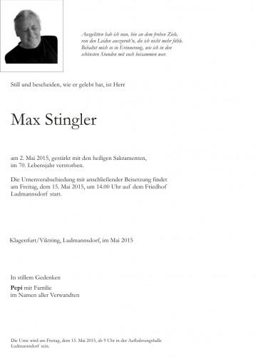 Max Stingler