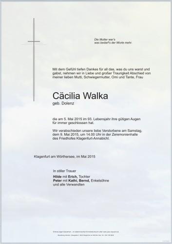 Cäcilia Walker