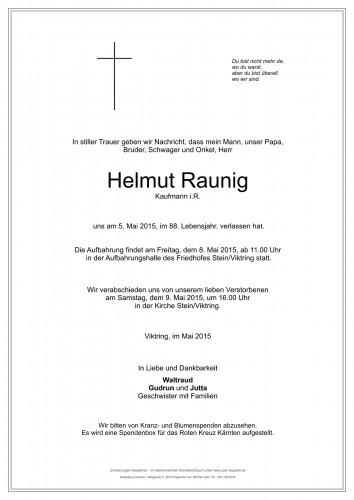 Helmut Raunig