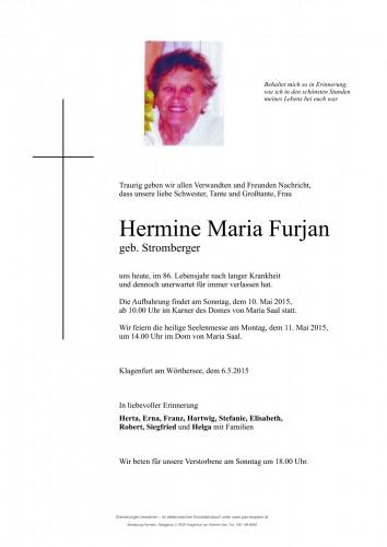 Hermine Maria Furjan
