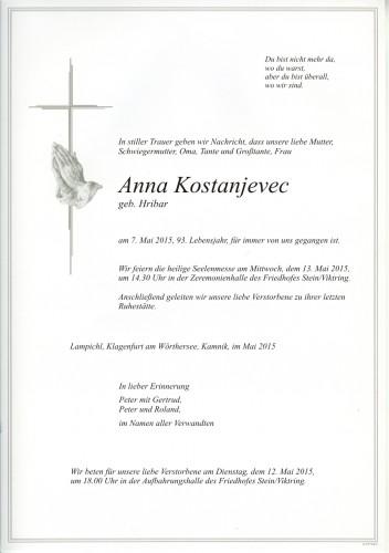 Anna Kostanjevec