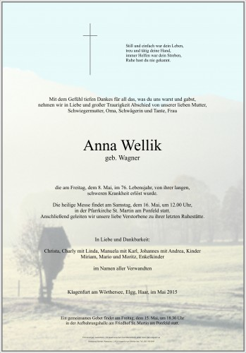 Anna Wellik
