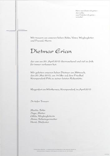 Dietmar Erian