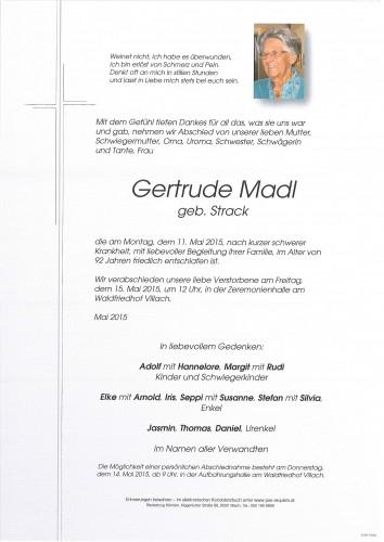 Gertrude Madl