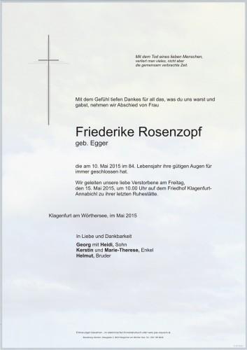 Friederike Rosenzopf