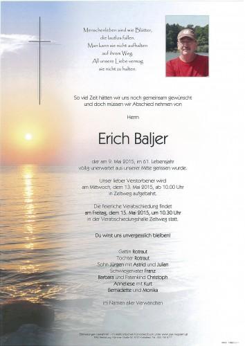 Erich Baljer