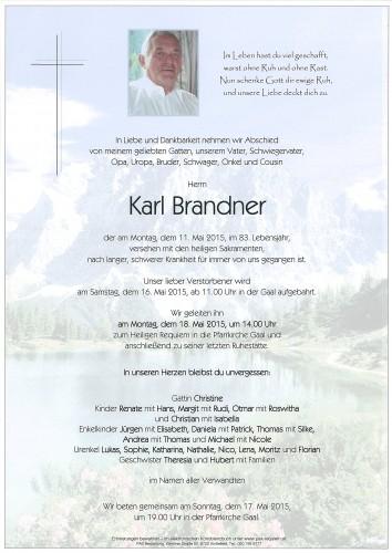 Karl Brandner