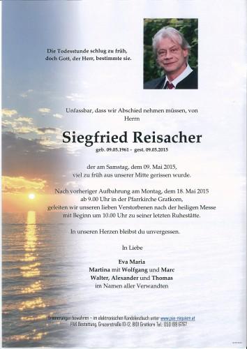 Siegfried Reisacher