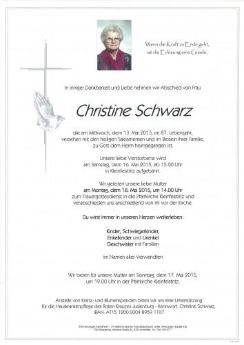 Christine Schwarz