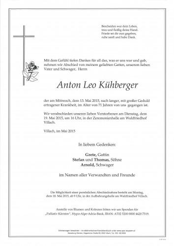 Anton Leo Kühberger