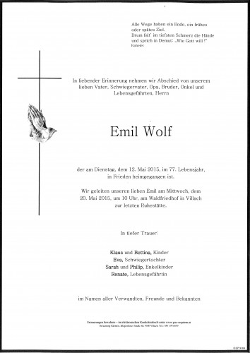 Emil Wolf