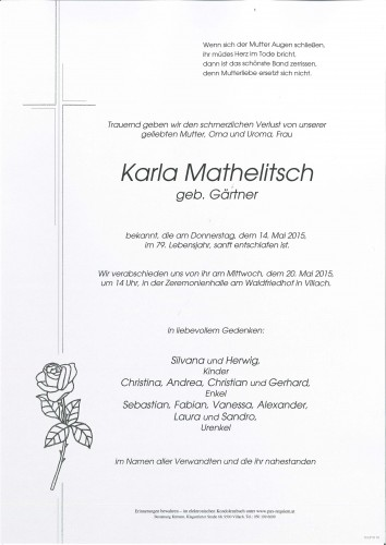 Karla Mathelitsch