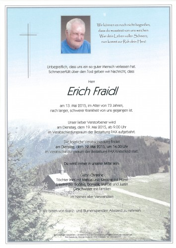 Erich Fraidl