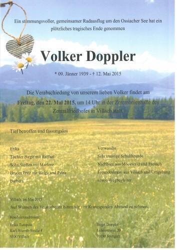 Volker Doppler