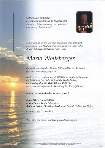 Mario Wolfsberger