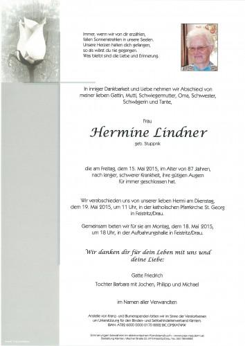 Hermine Lindner