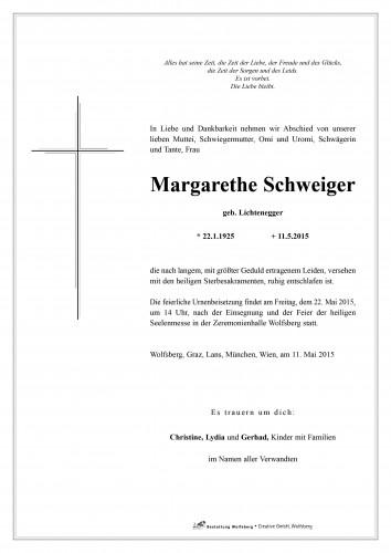 Margarethe Schweiger