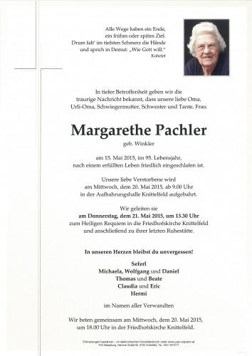 Margarethe Pachler