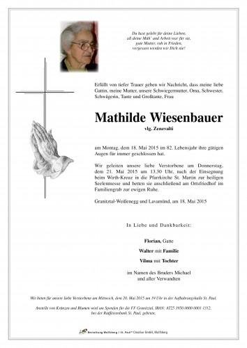 Mathilde Wiesenbauer