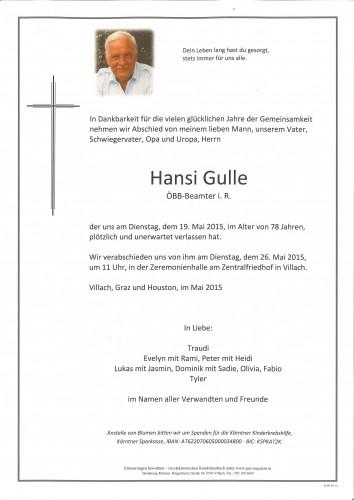 Hansi Gulle
