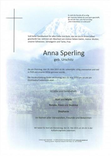 Anna Sperling