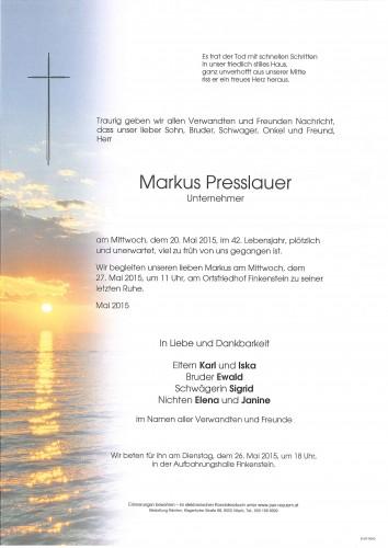 Markus Presslauer
