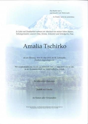 Amalia Tschirko