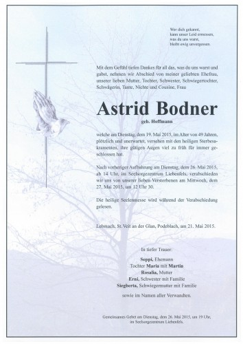 Astrid Bodner