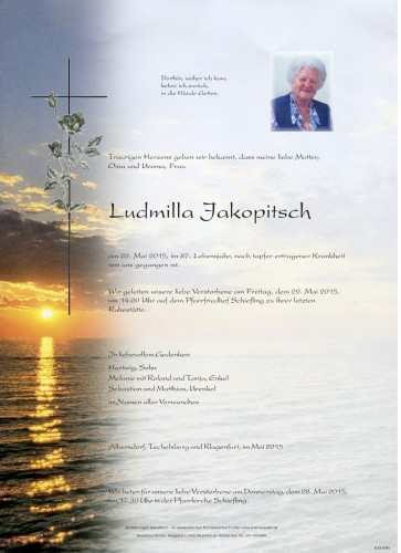 Ludmilla Jakopitsch