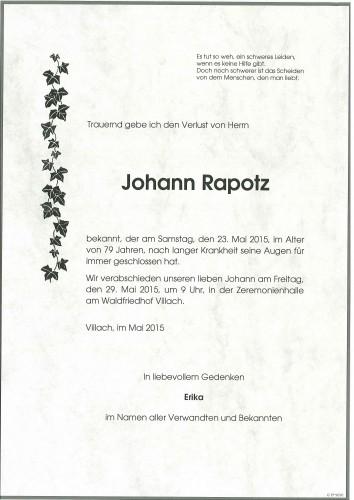 Johann Rapotz