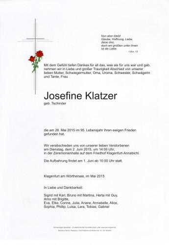 Josefine Klatzer