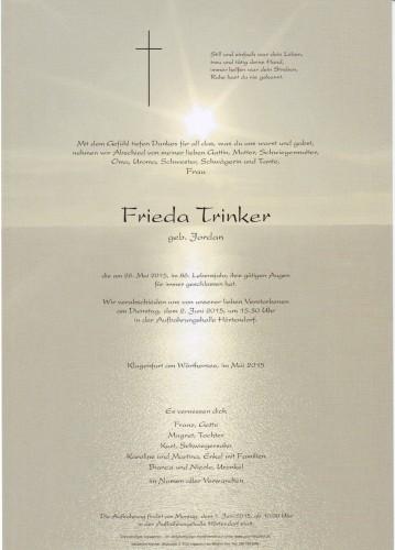 Frieda Trinker