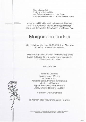 Margaretha Lindner
