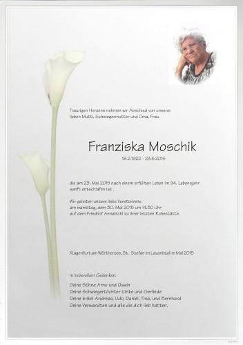 Franziska Moschik