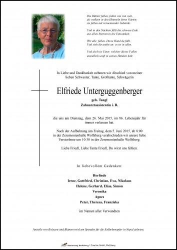 Elfriede Unterguggenberger